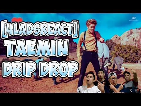 [4LadsReact] TAEMIN (태민) - Drip Drop Perfomance Reaction