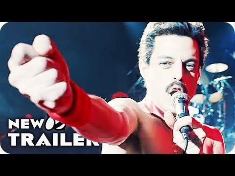 Bohemian Rhapsody Trailer 2 (2018) Rami Malek Queen Movie