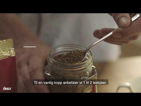 Hvordan lage god instant-kaffe
