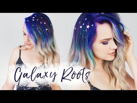 Galaxy Roots – Totally Temporary Halloween Hair!! – KayleyMelissa