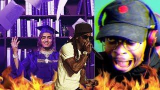 Wayne SAVED the Song!   Lil Pump - Be Like Me ft. Lil Wayne   Reaction1