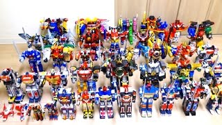 Super Sentai DX Mechas Goranger- Zyuohger  (1975-2016) wotafa's SENTAI spirits
