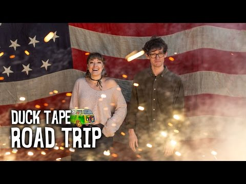 Hit the open road with Ryan and Alana as they bring unique duct tape stories to life in The All American Duck Tape® Road Trip video series.