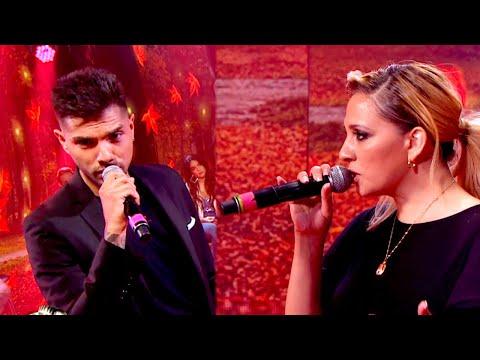 Tyago Griffo y Lissa Vera cantaron «Déjame llorar» su tercer tema en la primera semifinal