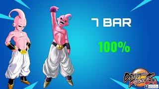 7 Bar 100% Kid Buu Combo With Assist!! [DragonBall FigterZ]