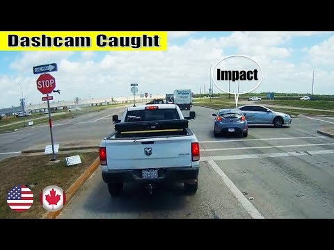 Ultimate North American Car Driving Fails Compilation: The One Where Hyundai Ran The Stop