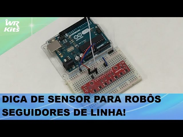 DICA DE SENSOR PARA ROBÔS SEGUIDORES DE LINHA!