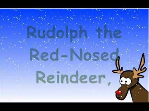 Rudolph the Red Nosed Reindeer (with Lyrics)