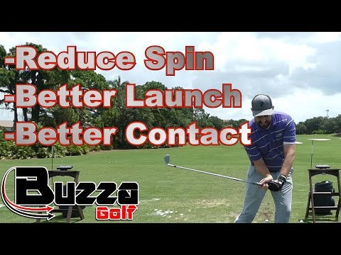 REDUCE SPIN WITH YOUR IRONS (Handle First Drill)