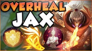 HOW NUTS IS THE KOREAN ADC BUILD ON JAX IN TOP?! NEW JAX SEASON 8 TOP GAMEPLAY! - League of Legends