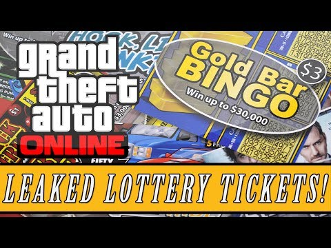 GTA 5: DLC | New Lottery Tickets DLC Leaked -