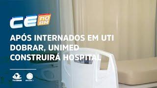 Após internados em UTI dobrar, Unimed construirá hospital de campanha novamente