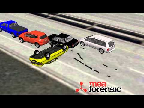 Multicar Collision Reconstruction - MEA Forensic