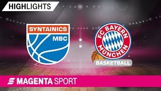 SYNTAINICS MBC - FC Bayern Basketball | 9. Spieltag, 19 ...