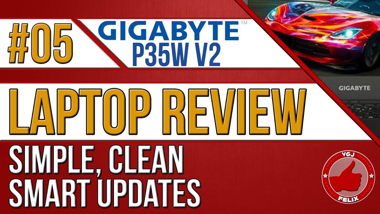 Gigabyte P35W V2 Laptop Review #5: Smart Updates