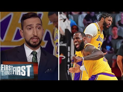 """Nick Wright reacts to """"Lakers in 5""""  LeBron & AD Combines 55 Pts as Lakers def Suns 109-95 in game 3"""