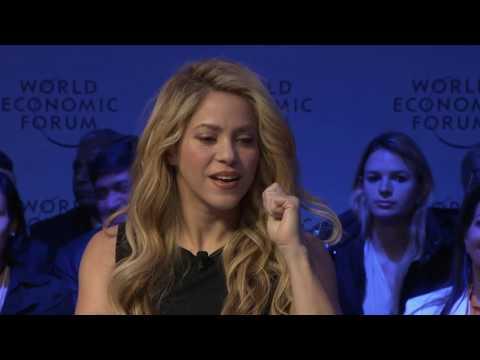 Davos 2017 - An Insight, An Idea with Shakira