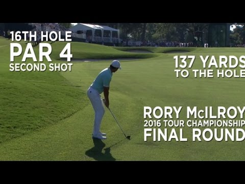 By the Numbers: Rory McIlroy?s amazing eagle down the stretch at the 2016 TOUR Championship