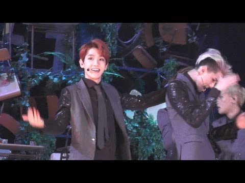 [FANCAM]131122 MAMA  EXO Growl remix  BAEKHYUN