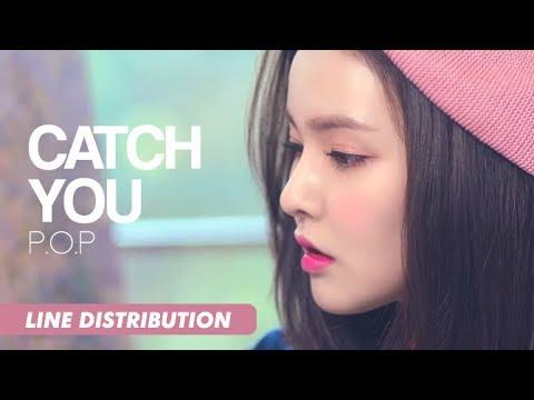 P.O.P (피오피) - Catch You (애타게 GET하게) | Line Distribution