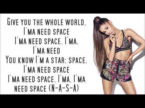 Ariana Grande ~ NASA ~ Lyrics