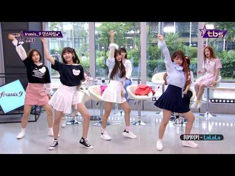 fromis_9 DANCE 위키미키 NCT Talk Dirty - 팩트iN스타