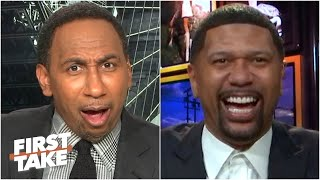 Stephen A. disagrees with Jalen Rose's BLASPHEMOUS idea for a 20-team NBA playoffs | First Take