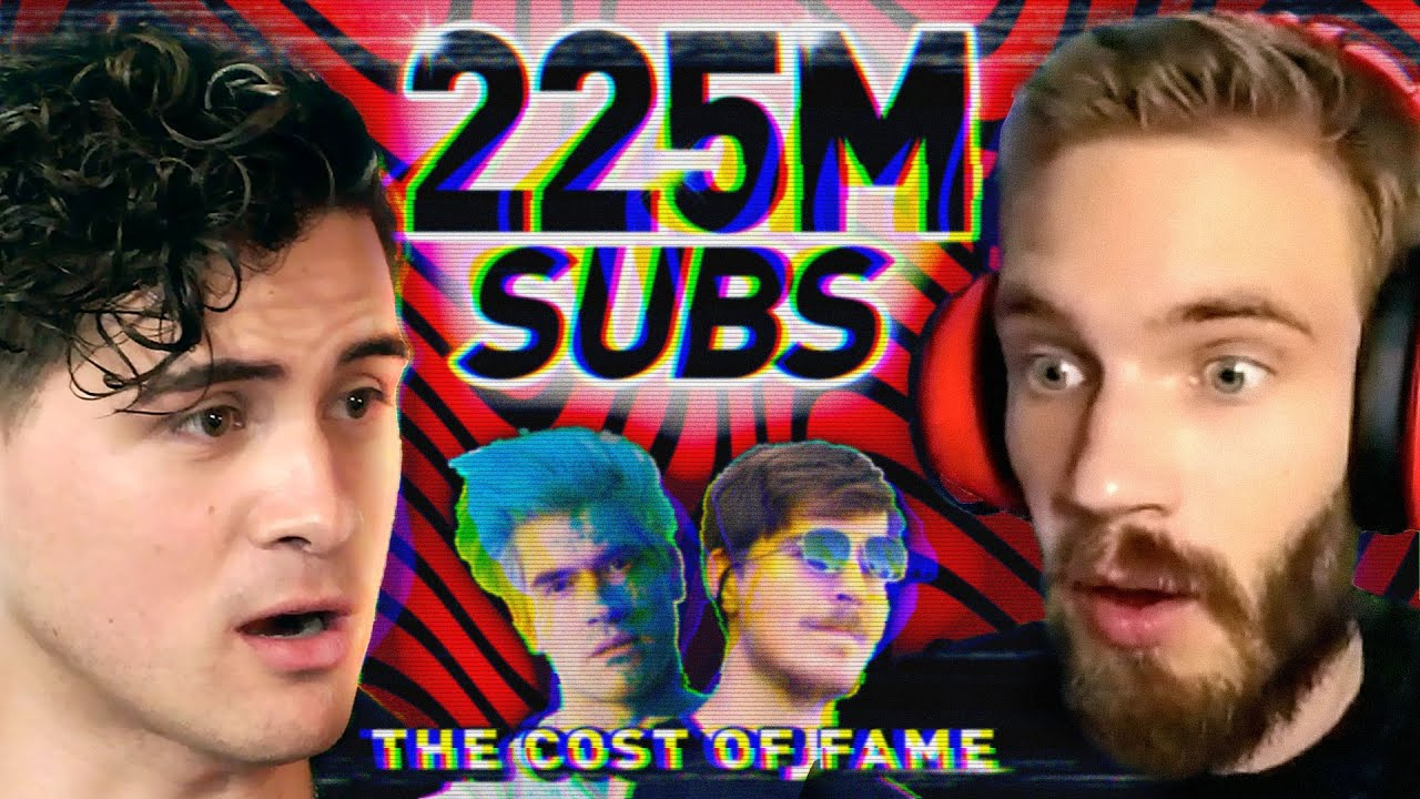 I spent a day with YOUTUBE'S BIGGEST LEGENDS (PewDiePie, MrBeast, HolaSoyGerman/JuegaGerman)