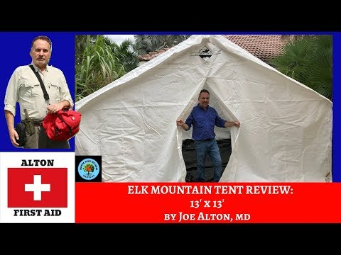 ELK MOUNTAIN TENT 13 x 13 REVIEW