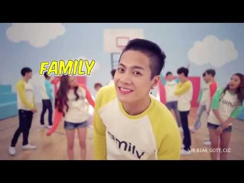 [가족사랑의날] B1A4 (비원에이포) & GOT7 (갓세븐) Collabo - Family (패밀리)