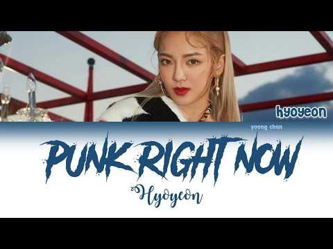 HYO & 3LAU - Punk Right Now (Korean Ver.) Lyrics