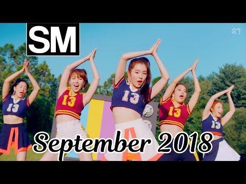 [TOP 100] Most Viewed SM Kpop MVs [September 2018]