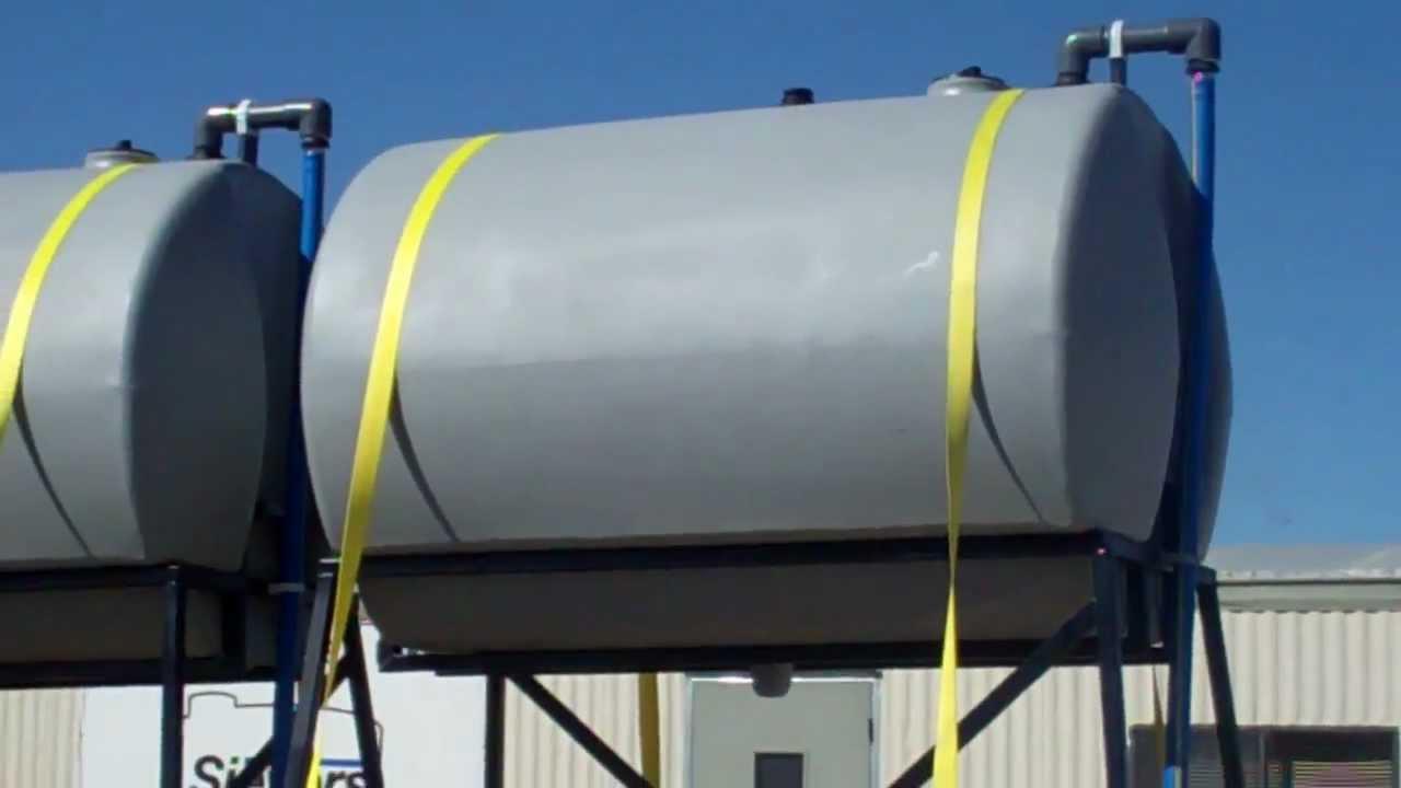 Diesel Exhaust Fluid >> 500 Gallon HDPE Elevated Tanks for DEF, Oil, Diesel Fuel ...