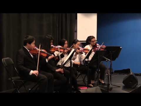 Recital for ensemble group.