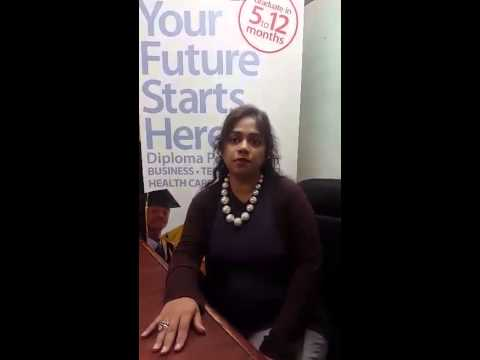 Academy of Learning College - Student Testimonial - Farhana