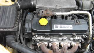 opel corsa vectra isuzu 1,5 1,7 start cold diesel engine sound praca