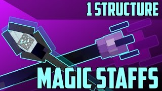 Magic Staffs   [Minecraft 1.12 PC FREE] [Vanilla Creation]