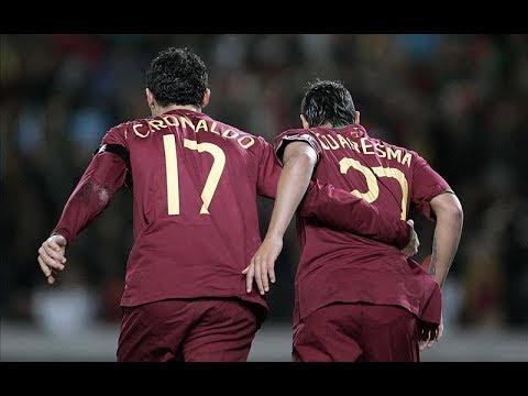 When C.Ronaldo & R.Quaresma Destroyed Brazil HD|