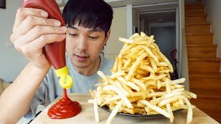 Four Hundred French Fries Challenge - 400K Subscribers Celebration