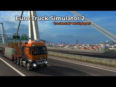 Euro Truck Simulator 2  TruckersMP Opname 03052018