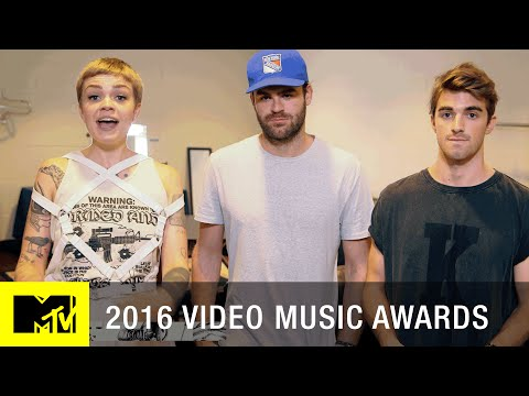 Backstage w/ The Chainsmokers   2016 Video Music Awards   MTV