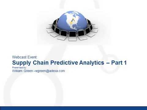 Adexa Supply Chain Predictive Analytics: The Supply Side of Predictive Analytics