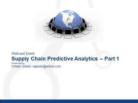 Adexa Supply Chain Predictive Analytics: The Supply Side of Predictive Analytics