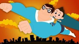 Superhero Song | Original Song Nursery Rhymes | Kids Songs | Kids Tv Cartoon Videos For Toddlers
