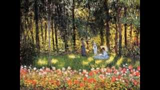 Paintings by MONET & Music by DEBUSSY