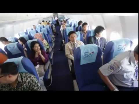 Pesawat Sukhoi 20 Menit Sebelum Kecelakaan