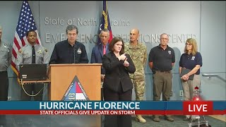 Hurricane Florence update with NC Gov. Cooper