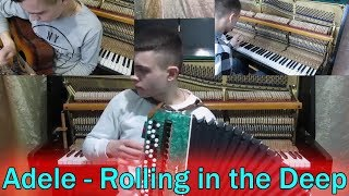 Adele - Rolling in the Deep | Cover on 5 Musical Instruments