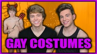 Gay Halloween Costumes 2017 | Austin and Patrick