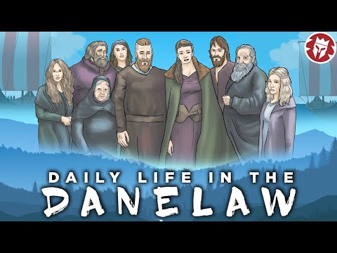 Daily life in the Danelaw - Vikings DOCUMENTARY